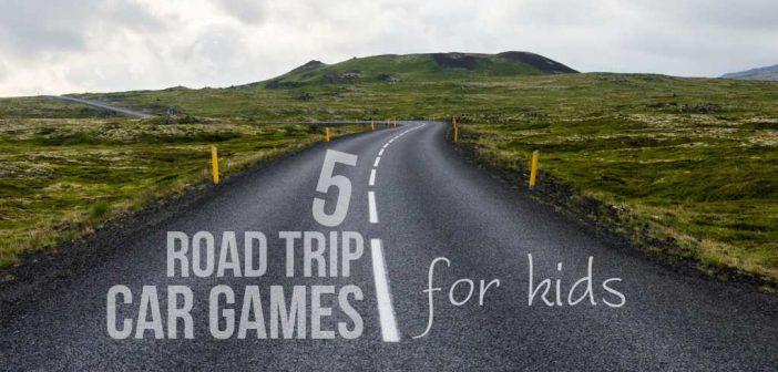 5 Road Trip Car Games